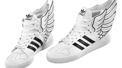 Las excéntricas creaciones de Jeremy Scott para Adidas