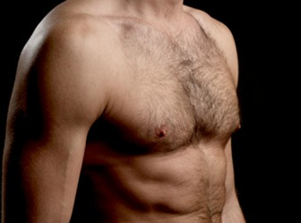 Torso depilado y vello corporal 1