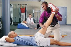 Lesiones deportivas, proceso de recuperación