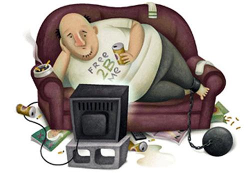Los efectos de la vida sedentaria