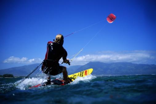 Vuela con el kite surf