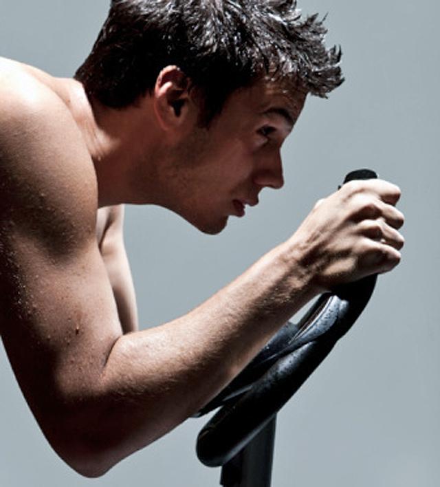 Fitness y bicicleta elíptica