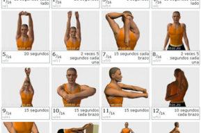 Los ejercicios de estiramiento ayudan a sentirse bien