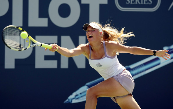 Wozniacki, la nueva musa del tenis