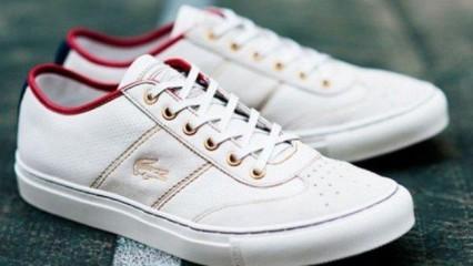 Vuelven los calzados emblemáticos de Lacoste