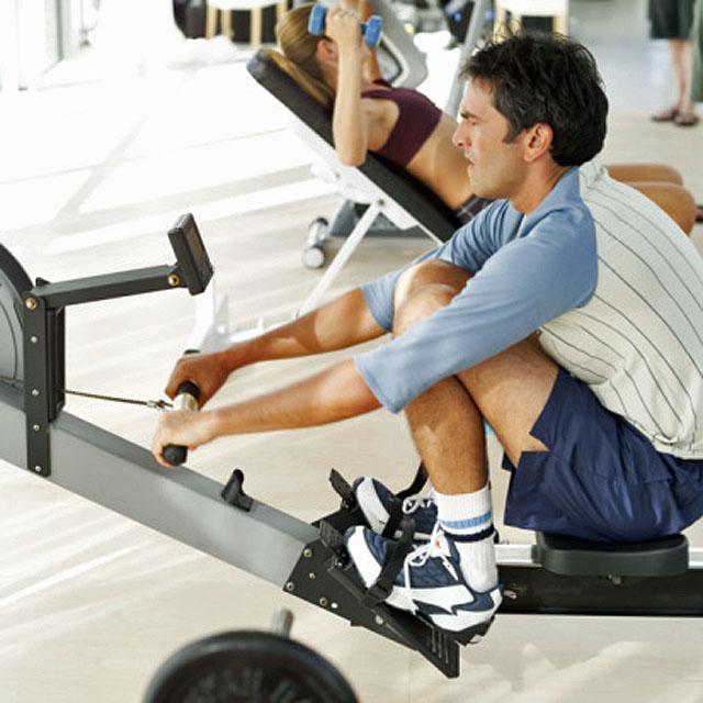 Fitness en aparatos de gimnasio