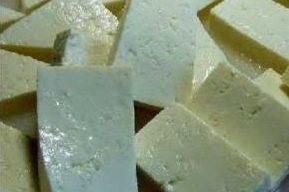 Tofu: muchas proteínas y nada de colesterol