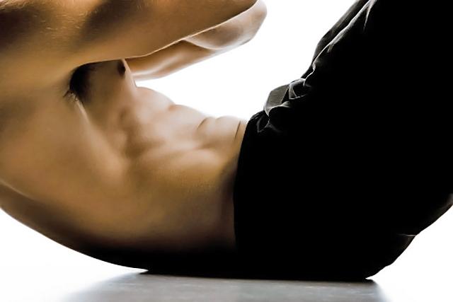El Crunch para trabajar los abdominales