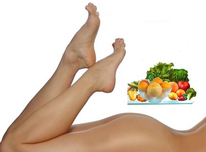 Alimentación contra la celulitis