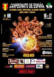 Campeonato de España de fisicoculturismo