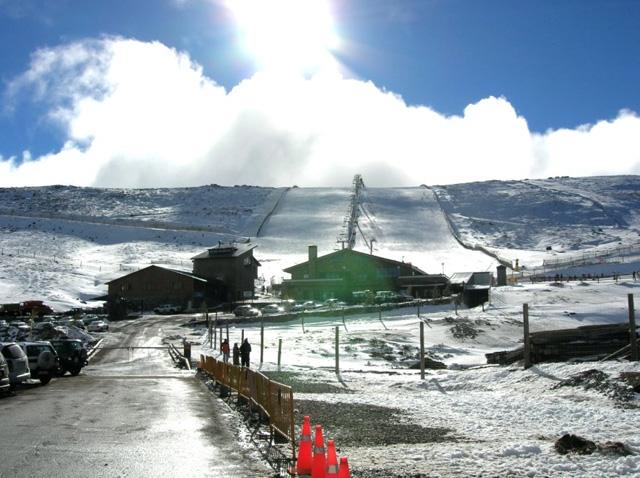 Esquiar en Sierra de Béjar