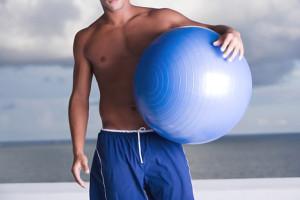 El balón de fitness 1