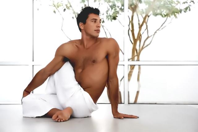 Relajarse tras una sesión de fitness
