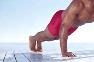 Desarrollar los pectorales a base de flexiones 1