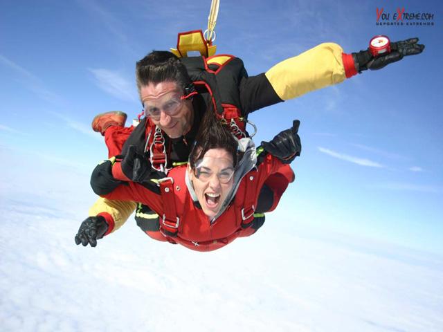 El paracaidismo, el maravilloso arte de volar - Punto Fape