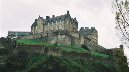 Viaje a Escocia, visita al Castillo de Edimburgo