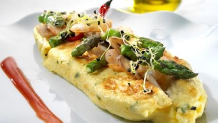 Receta de tortillas con menos calorías
