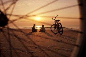 Festejar San Valentín pedaleando en pareja