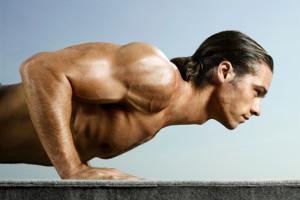 Flexiones y musculación de los pectorales 1