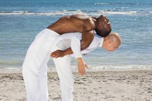 La práctica de la musculación entre dos 1
