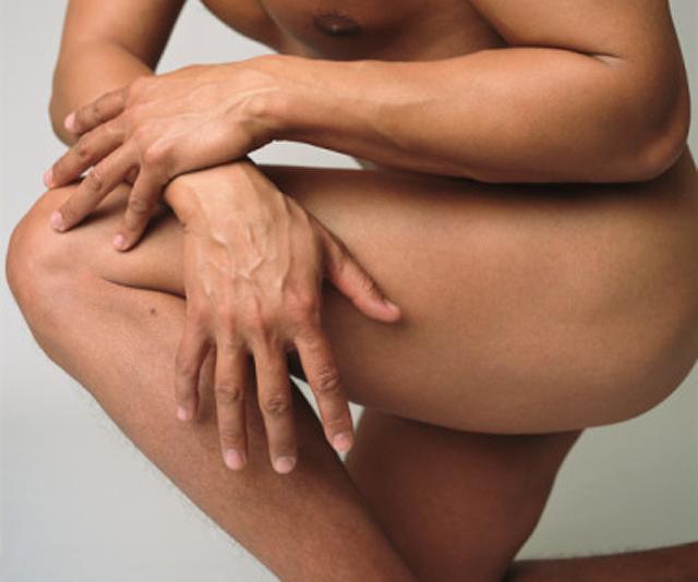 Definición muscular de las piernas