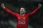 Ryan Giggs celebra sus 20 años en el Manchester United