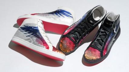 Las primaverales zapatillas de Puma y Alexander McQueen