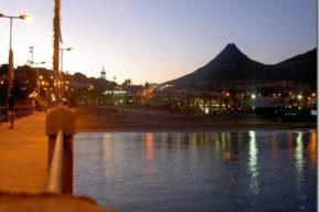 Islas Madeiras,  playa de Porto Santo