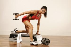 El gimnasio y el culturismo femenino 1