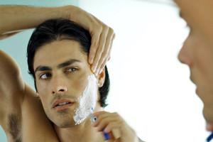 Belleza masculina, afeitado impecable 1