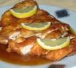 Pollo con salsa de limón