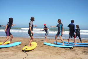 La armonía total Yoga y Surf 1