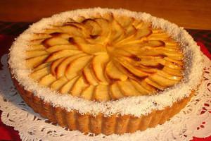 Tarta de manzana Light 1