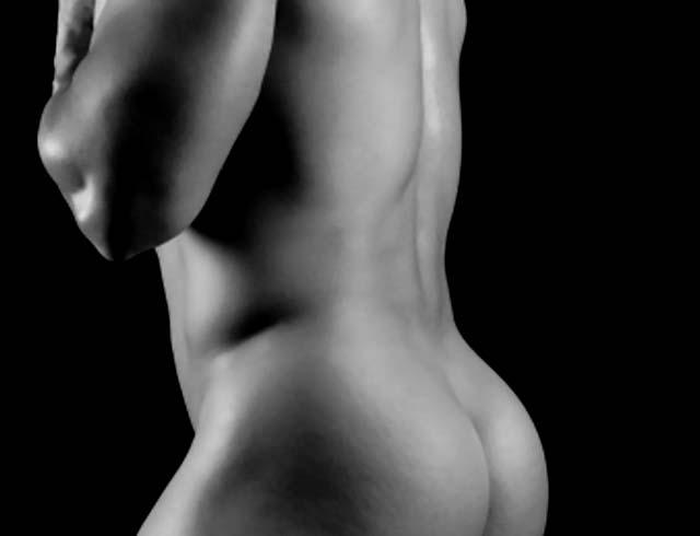 Desarrollo muscular de los glúteos