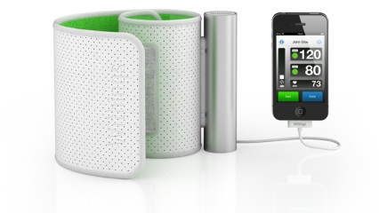 El tensiómetro Withings Blood Pressure Monitor