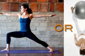 Diferencias entre Pilates y Yoga, tema de eterna discusión