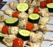 Brochetas light