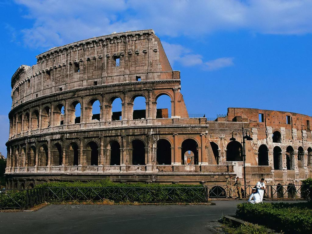 Recorriendo la bella Roma