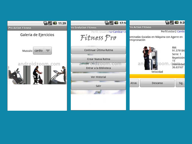 Fitness Pro, para entrenar de forma eficaz