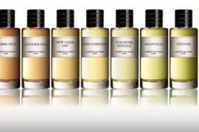 La colección de fragancias Privée de Christian Dior