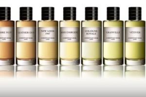 La colección de fragancias Privée de Christian Dior 1