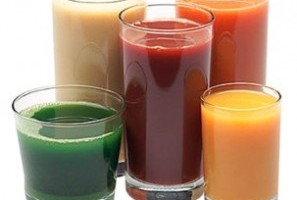 Los jugos y las bebidas en el almuerzo 1