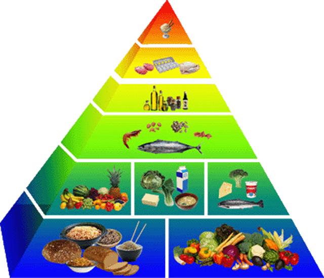 C mo lograr una alimentaci n saludable y equilibrada punto fape - Piramide de la alimentacion saludable ...