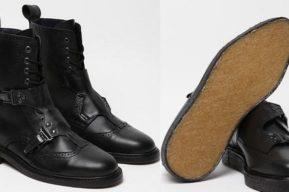 Colección «footwear» de Mugler