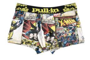 Pull in y su ropa interior de cómics