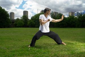 deportista artes marciales