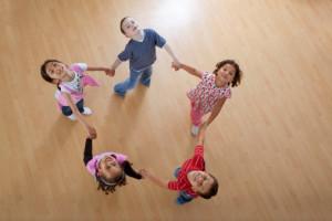 expresión corporal con niños