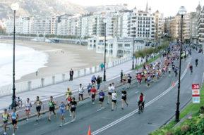 Maratón y turismo en San Sebastián