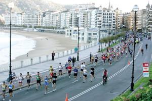 Maratón y turismo en San Sebastián 1