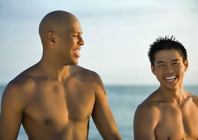 modelos en la playa